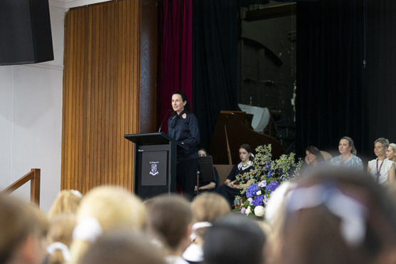 St Margaret's students celebrate International Women's Day