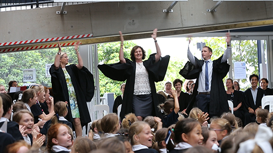 St Margaret's flash mob goes viral online