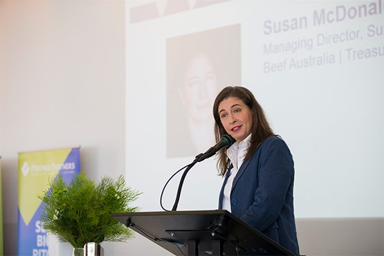 Susan McDonald, managing director of Super Butcher, was the guest speaker at St Margaret's Professional Women's Network Breakfast