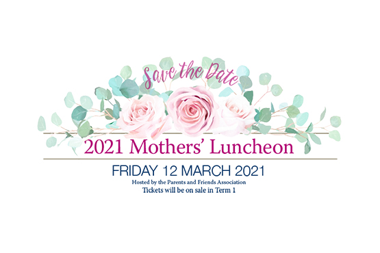 Mothers' Luncheon 2021
