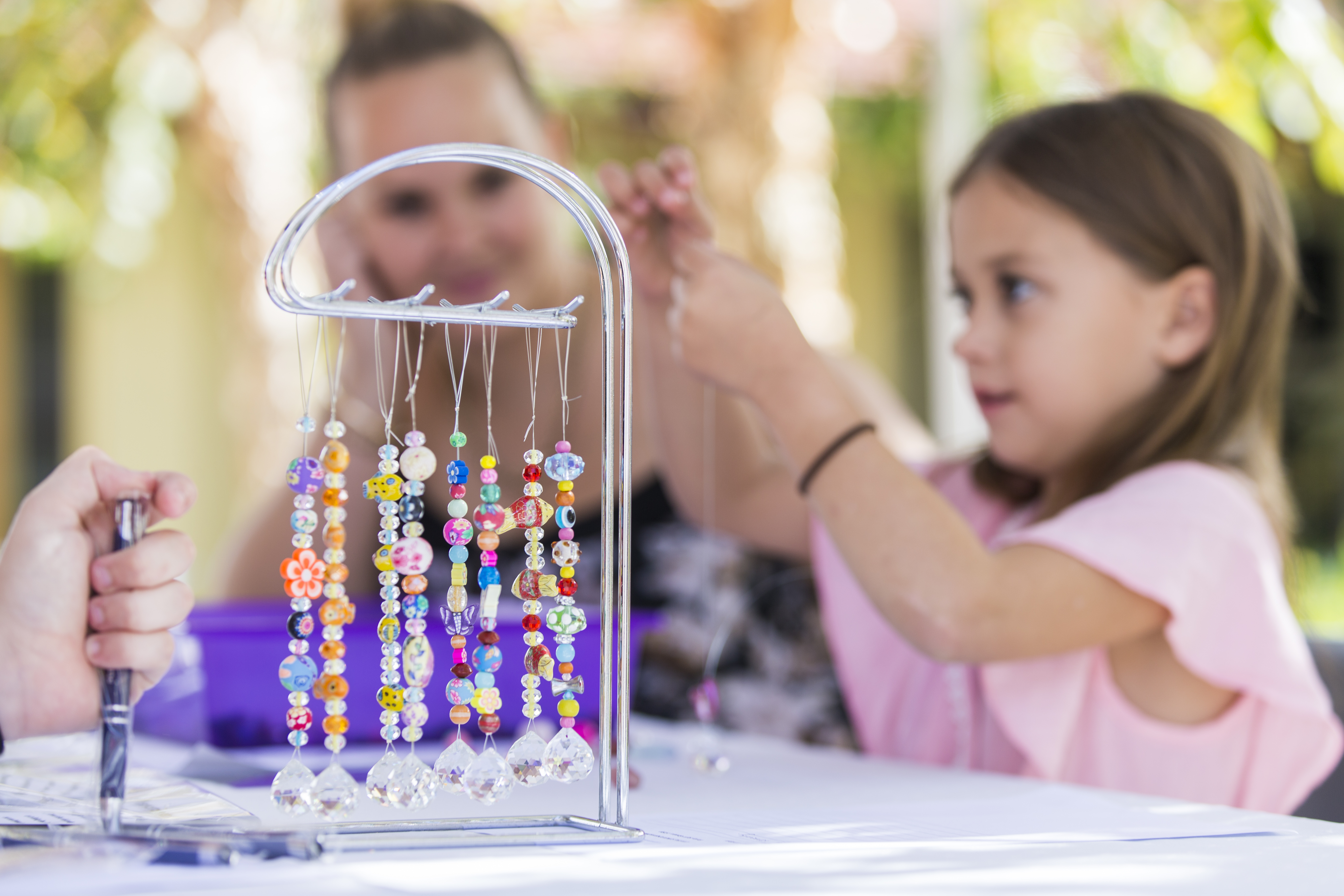 Crystal Sun Catcher Workshop