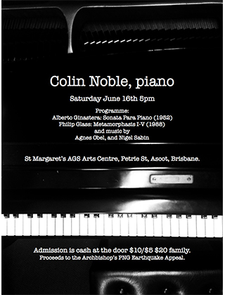 eNews Issue 16 2018 Colin Noble Piano Recital 16 June 2018