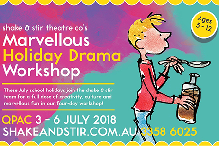 eNews Issue 18 2018 Marvellous Holiday Drama Workshop