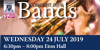 eNews Issue 19 2019 Bands Concert 2019 Banner