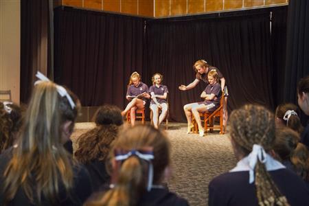 St Margarets Drama Performance 1