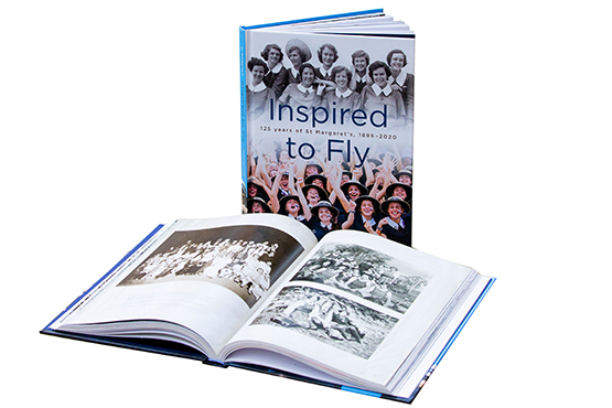 St Margaret's Inspired to Fly, celebrating 125 years of St Margaret's (189*5 - 2020)